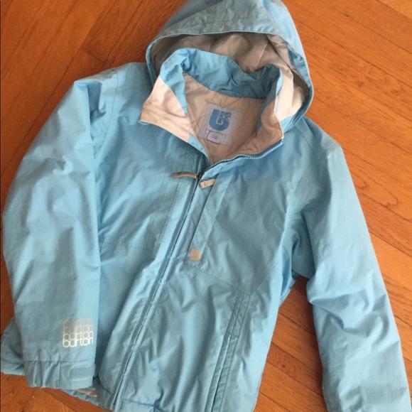 67c193fb09 Burton Jackets   Blazers - Burton Snow   Ski   Snowboard Jacket - Powder  Blue
